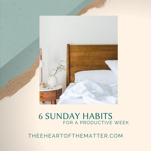 6 SUnday habits